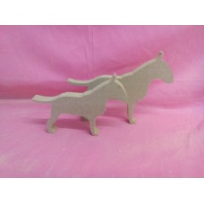 18mm Bull terrier Med size